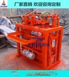 4-45砖机 免烧空心砖机 水泥砖机 小型制砖设备