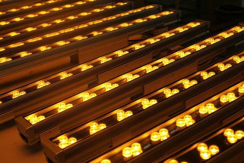 36W黃光大功率LED景觀洗牆燈,戶外亮化洗牆燈,夜景燈