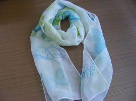涤纶雪纺印花丝巾