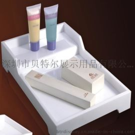 供应亚克力酒店客房用品多功能/有机玻璃置物架/亚克力一次性用品盘