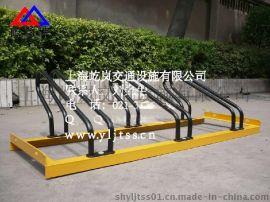 经典卡位自行车停车架 经典卡位自行车停放架