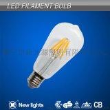 ST64 6W LED灯丝泡