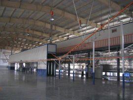 中山东升镇回收二手喷涂厂生产设备,回收悬挂烘干线