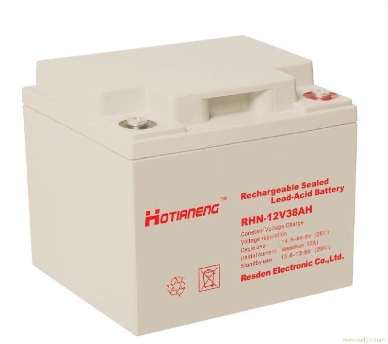 RHN-12V38AH詳細參數昊能鉛酸蓄電池廠家報價