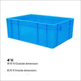 鹏威塑胶厂价直销 优质塑料周转箱 4#箱
