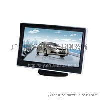 5寸臺式顯示器 小汽車倒車顯示器 液晶數位屏