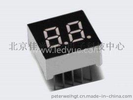 0.3英寸双二2位led数码管红光北京天津河北数字面板显示