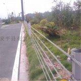 景区护栏厂家、景区缆索护栏、缆索防撞护栏