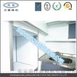 櫥櫃定製 不鏽鋼檯面 不鏽鋼雙層拼裝櫃體 鋁蜂窩襯板 彩鋼門板