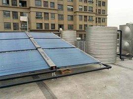 5吨太阳能空气能双联供热水器系统整套