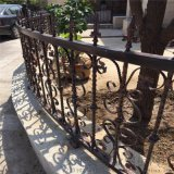 社区铁艺围墙护栏幼儿园不褪色铁艺围栏生态园防护栏杆