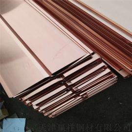 现货铜板 C1100铜板 铜板加工 定尺铜板