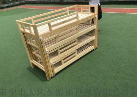 广西南宁幼儿园儿童床 南宁幼儿木制床 樟子松木床