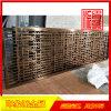 拉丝古铜防指纹不锈钢隔断供应厂家