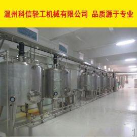 新型火龙果饮料制作设备 9000全自动饮料灌装设备