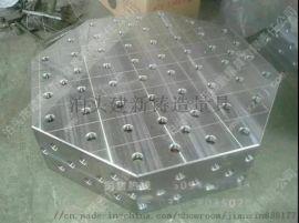厂家直销 三维八角焊接平台 圆形铸铁平台