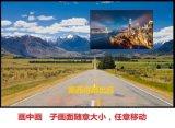 奥西得hdmi2画面分割器LCD-HD-2F