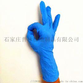 黑色蓝色丁腈手套一次性乳胶橡胶手套pvc家务手套