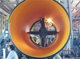 HDPE钢带波纹管规格PE钢带管报价