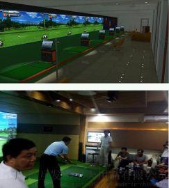 高尔夫模拟器_室内高尔夫/布拉沃高速精准3d模拟器设备