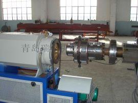 PE碳素螺旋管生产线-北方**PE管材,PE碳素管生产线