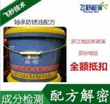 高清淨減振防鏽油配方 軸承減震防鏽油配方分析