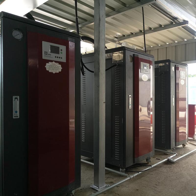 高能時代環境蘇州翠庭項目活性炭再生用電蒸汽鍋爐 全自動電蒸汽發生器