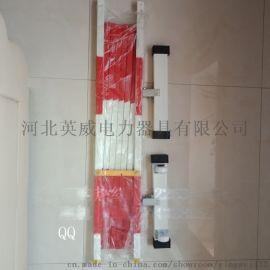 绝缘伸缩围栏,玻璃钢片式围栏,伸缩式硬质围栏