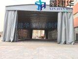 山西供應倉庫倉儲帳篷活動推拉雨棚天幕陽光蓬伸縮摺疊式停車蓬固定涼棚