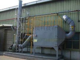 电子厂有机废气净化设备车间烟气粉尘处理方法