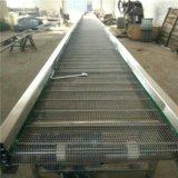 爬坡网带输送机耐高温 食品专用输送机