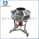 供应不锈钢材质高频振动筛制砖浆液过滤筛