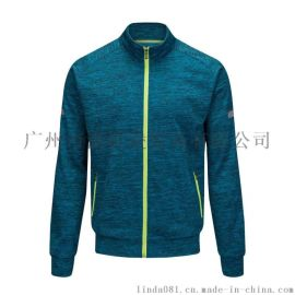 立领夹克开衫休闲跑步运动装外套加绒男H002