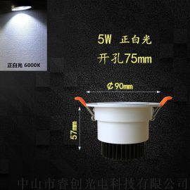 睿创光电COB天花灯,高显色指数LED天花射灯