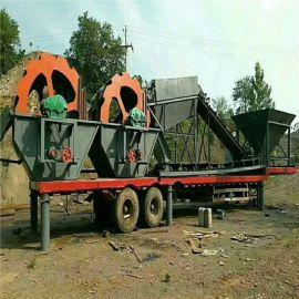 新型鹅卵石耐磨制砂机生产线