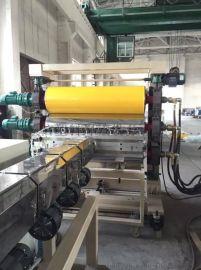 塑料板材生产线领信机械PP塑料厚板挤出设备