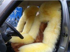 羊毛汽车坐垫 - 2