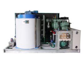 深圳兄弟制冰商用片冰机日产10t 海水片冰机 鳞片制冰 商用制冰机