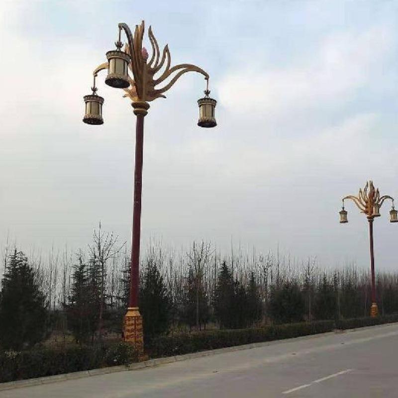 西藏道路灯,四川定制藏式文化特色路灯