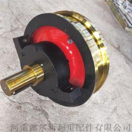 起重机车轮组   行车铸钢轧制车轮组