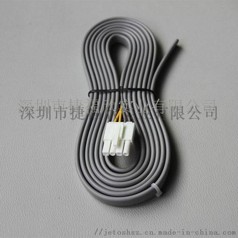 四芯扁线深圳线束加工环保镀锡铜线