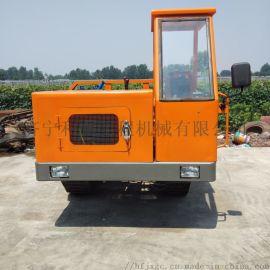 保定四缸橡胶履带运输车 沼泽运输土方农用车多少钱