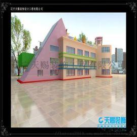 沈阳幼儿园装修设计_幼儿园装修材料的选择标准