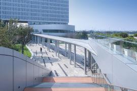 电梯背景墙木纹长城板 外墙凹凸铝单板定制厂家