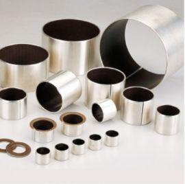 复合轴承之IU(低碳钢基+铜粉+黑色PTFE)