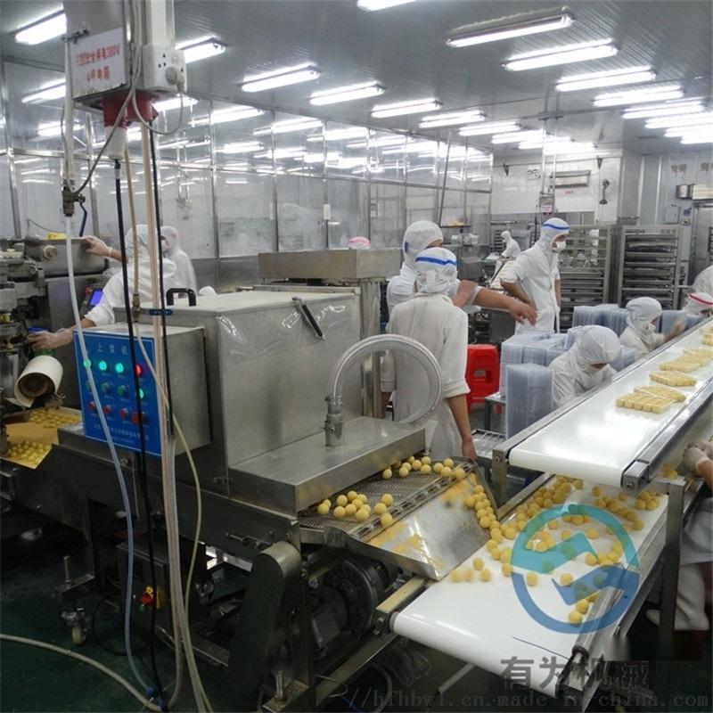 YW丸子裹糠机  全自动丸子裹糠机设备厂家
