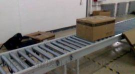 伸缩辊筒输送机不锈钢 倾斜输送滚筒台湾