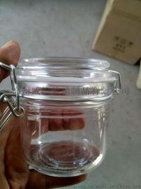 玻璃密封罐 储物罐 卡扣罐 乐扣罐 玻璃罐