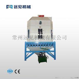 高温高湿鱼饲料冷却器 摆式排料颗粒冷却设备