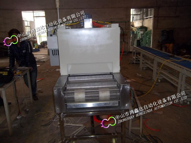 中山药材食品加热烘烤输送生产线